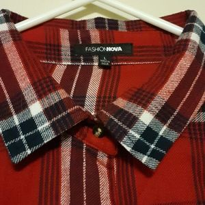 SOLD New Plaid Shirt (Flannel)